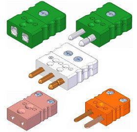 Temperature Sensor Connectors