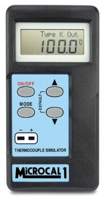Microcal 1 Thermocouple Simulator