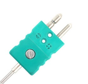 3mm MI Type K Thermocouple with Standard Plug