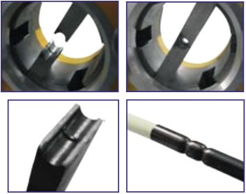 Ring Crimp: Arm up, Arm Down, Die Style, Crimp Finish